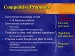 competitive proposals23