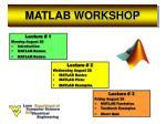 matlab workshop3
