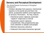 sensory and perceptual development55
