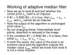 working of adaptive median filter60