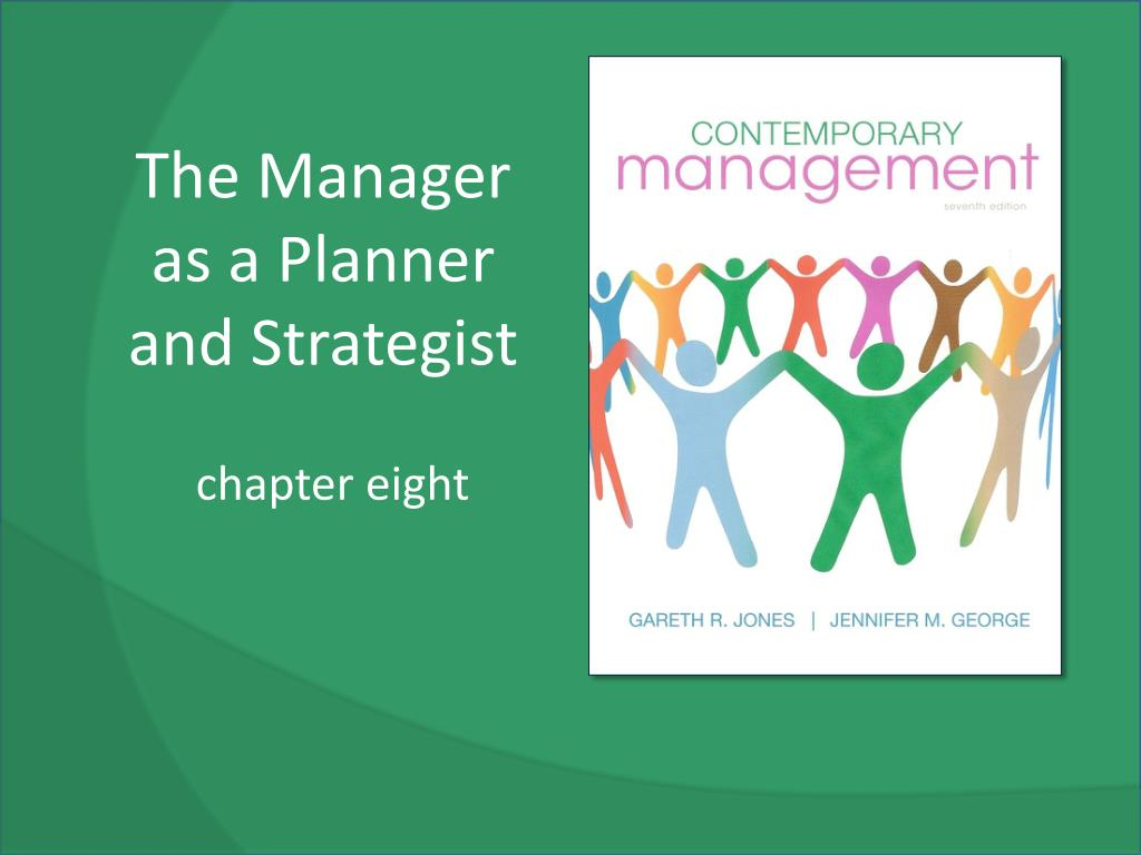 the manager as a planner and strategist l.