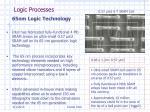 logic processes
