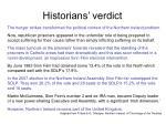 historians verdict