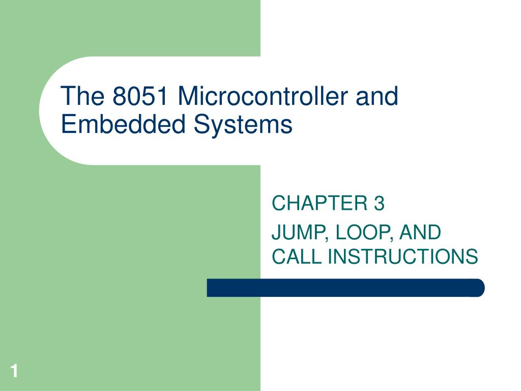 the 8051 microcontroller and embedded systems l.