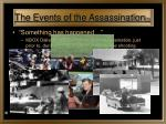 the events of the assassination 3