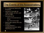 the events of the assassination 4