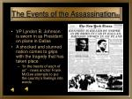 the events of the assassination 6