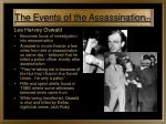 the events of the assassination 7
