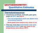 geothermometry quantitative estimates24