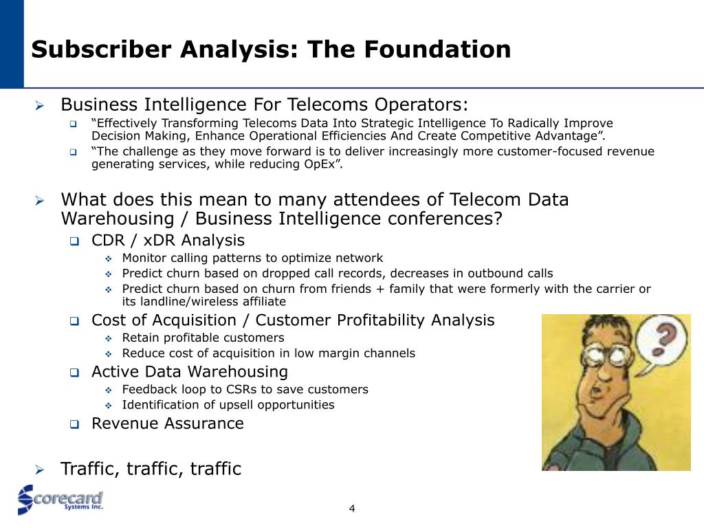Subscriber Analysis: The Foundation