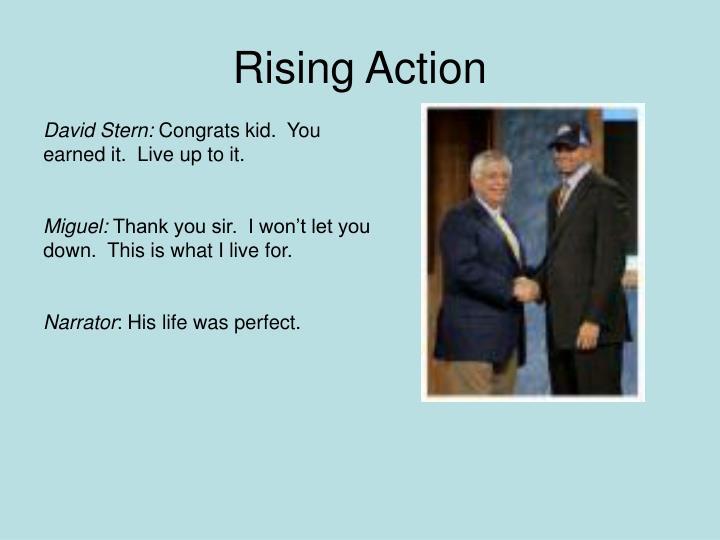 Rising action
