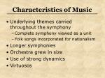 characteristics of music5