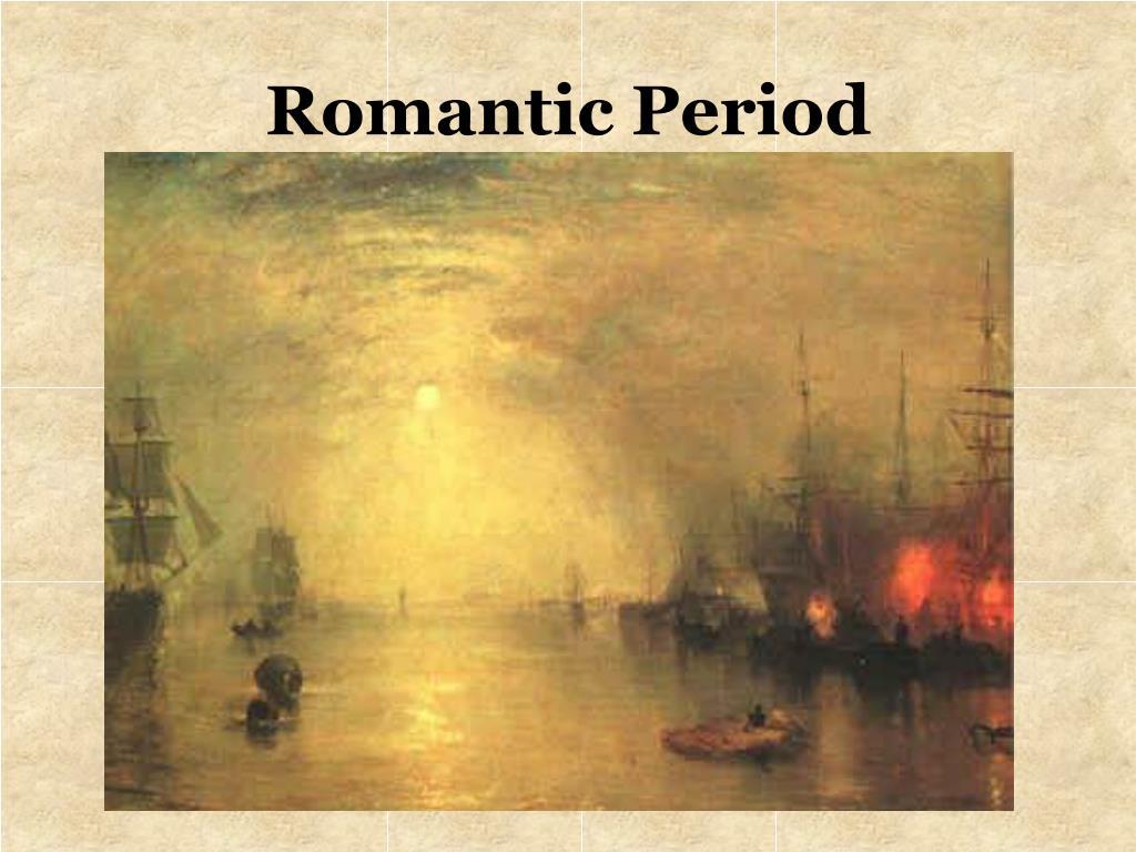 romantic period l.