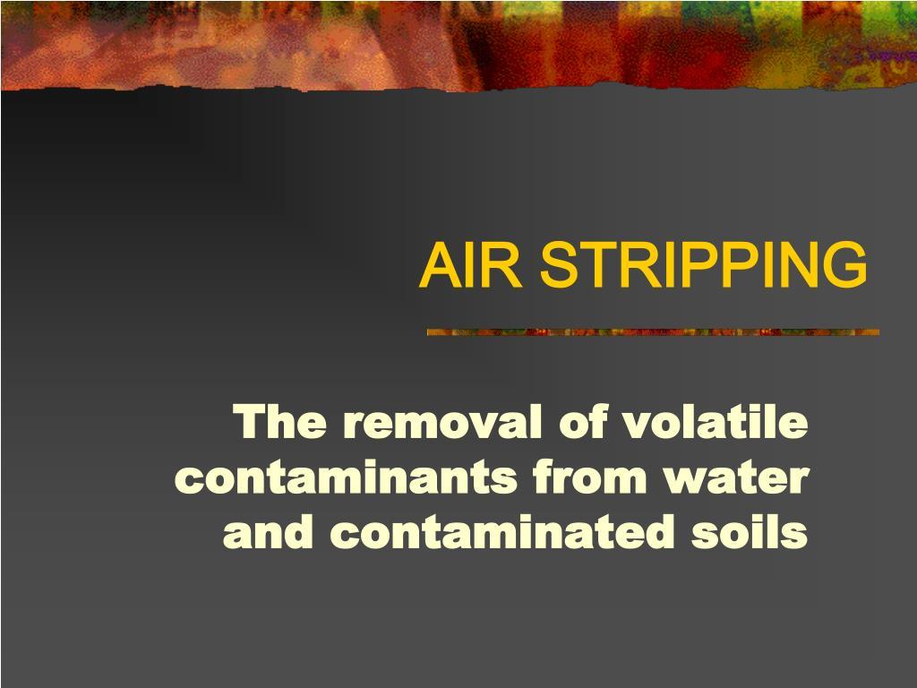 air stripping l.