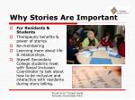 why stories are important