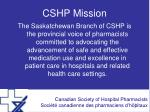 cshp mission