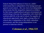 coleman et al 1966 325