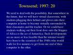 townsend 1997 20