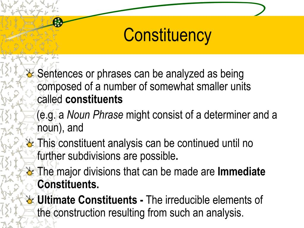 Constituency