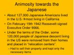 animosity towards the japanese