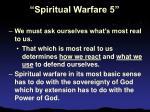 spiritual warfare 510