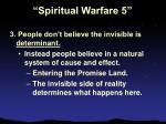 spiritual warfare 525