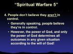 spiritual warfare 526