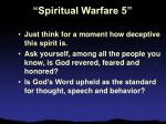 spiritual warfare 55