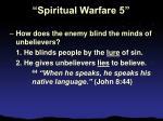 spiritual warfare 56