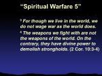 spiritual warfare 58