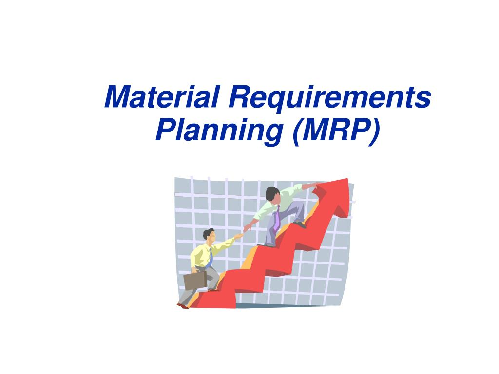 material requirements planning mrp l.
