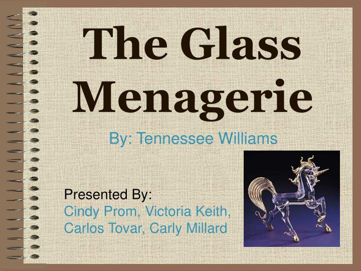 literary research paper on the glass menagerie