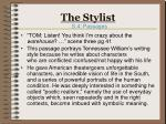 the stylist11