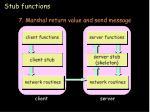 stub functions15