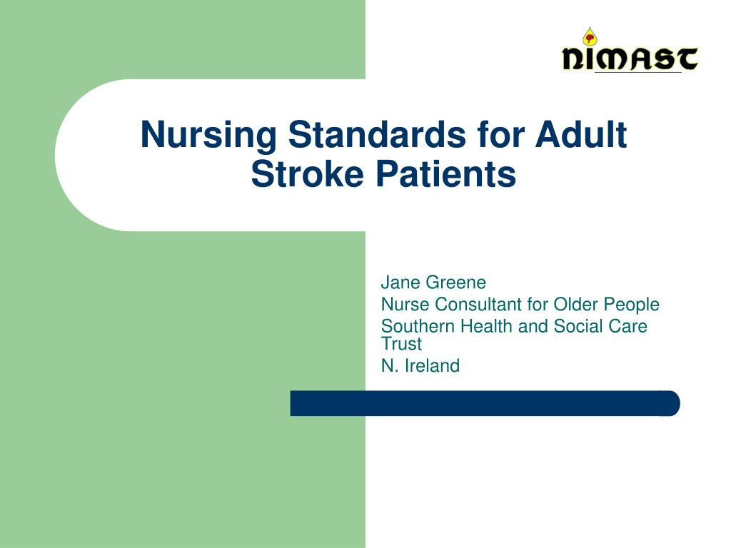 nursing standards for adult stroke patients l.