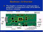 hardware 1 overview