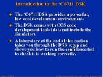 introduction to the c6711 dsk