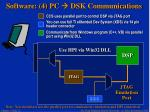 software 4 pc dsk communications