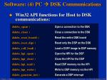 software 4 pc dsk communications23