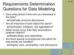 requirements determination questions for data modeling11