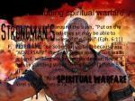 concluding spiritual warfare26