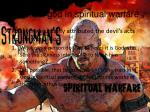 trust god in spiritual warfare