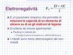 elettronegativit