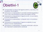 obiettivi 1