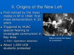 ii origins of the new left
