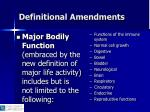 definitional amendments10