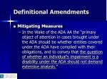 definitional amendments14
