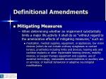 definitional amendments15