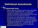 definitional amendments6