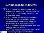 definitional amendments7